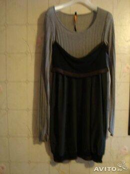 Платья - Платье трикотаж+ шелк, 0