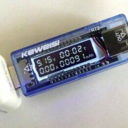 Компьютерные кабели, разъемы, переходники - Тестер измеритель для аккумулятора и USB портов, 0
