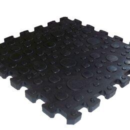 Плитка ПВХ - Резиновая плита для гаража и спортзала, 0