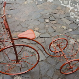 """Горшки, подставки для цветов - Подставка под цветы """"Велосипед"""", 0"""