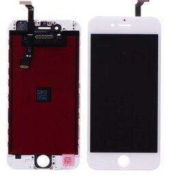 Дисплеи и тачскрины - Дисплеи для Iphone 6, белый, черный(ААА+) , 0