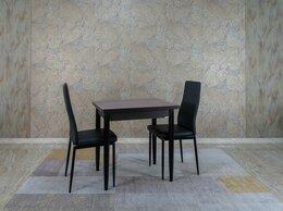 Столы и столики - Стол ломберный шимо темный + венге, 60(+60)*80, 0