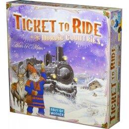 Путешествия - Билет на поезд. Северные страны, 0