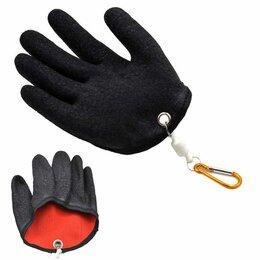 Одежда и обувь - Перчатка рыболовная противопорезная с защитным покрытием от проколов для щуки, 0