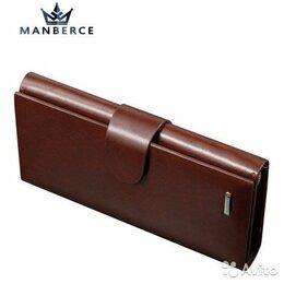 Кошельки - Мужское портмоне из натуральной кожи, кошелек, 0