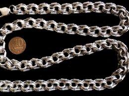 Цепи - Серебряная цепь Двойная Королевская Мантия.Вес…, 0