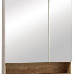 Тумбы - Шкаф-зеркало Фостер 60 без подсветки  с нишей, 0