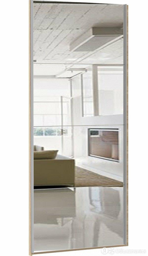 Дверь Прайм из 4х секций Зеркало 600 (для 120 и 180) по цене 6030₽ - Шкафы, стенки, гарнитуры, фото 0