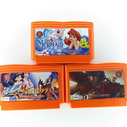 Ретро-консоли и электронные игры - Картриджи для денди-Battle Toads, Chip & Dale,Super Mario, Русалочка и т.д., 0