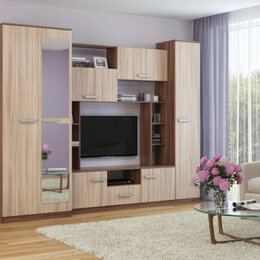 Шкафы, стенки, гарнитуры - Стенка Амелия, 0