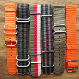 Ремешки для часов - Ремешки для часов Nato, Zulu, Perlon, Cordura, 0
