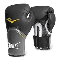 Боксерские перчатки - Перчатки боксёрские EVERLAST Pro Style Elite PU, 2310E, Черный, 10 унций, 0