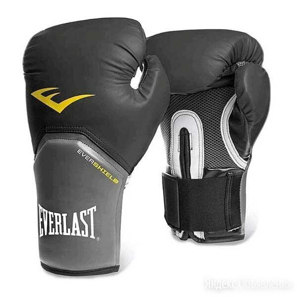 Перчатки боксёрские EVERLAST Pro Style Elite PU, 2310E, Черный, 10 унций по цене 2870₽ - Боксерские перчатки, фото 0
