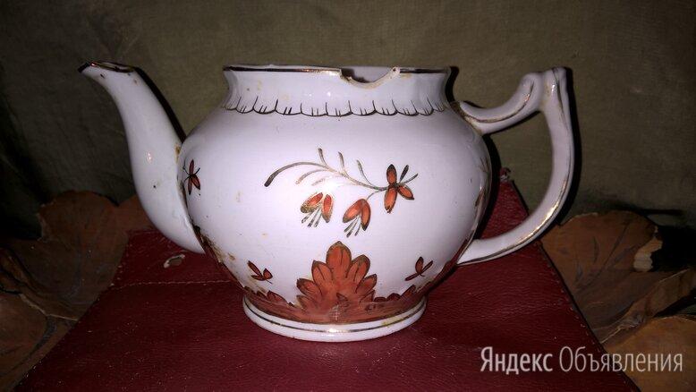 чайник фарфор Вербилки Ганднер по цене 1500₽ - Заварочные чайники, фото 0