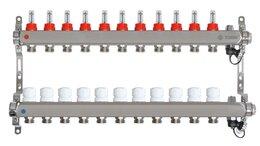 Коллекторы - Коллектор для теплого пола на 11 выходов Taen (с…, 0