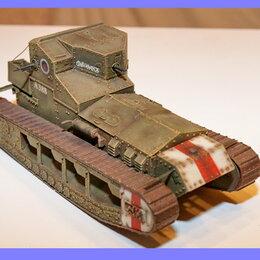 """Модели - 1/35 модель среднего танка Марк А Уиппет русский вариант с названием """"Сибиряк"""" , 0"""