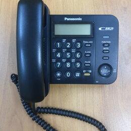 Проводные телефоны - Стационарные телефоны Panasonic KX-TS2358RU (2 штуки), 0