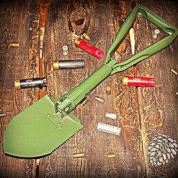 Лопаты - Лопатка складная металлическая в чехле BoyScout OL, 0