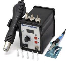 Электрические паяльники - Паяльная станция JCD858D+ паяльник и набор жал, 0