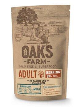 Корма  - Корм Oak's Farm Grain Free Herring Adult Cat для в, 0