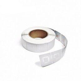 Расходные материалы - Этикетка противокражная для термопринтера, 40х40мм, 0