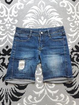 Шорты - Джинсовые шорты на девочку 10-11 лет, 0