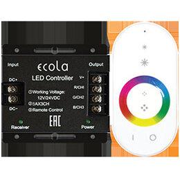 Светодиодные ленты - Ecola LED strip RGB RF controller 24A 288W 12V, 0