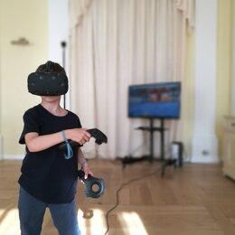 Очки виртуальной реальности - Комплект виртуальной реальности ПК+Шлем (HTC Vive), 0