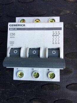 Электрические щиты и комплектующие - автоматы с50, 0