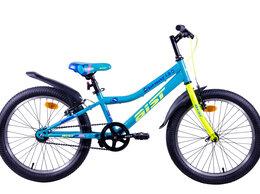 """Велосипеды - Велосипед горный Аист SERENITY 1.0 20"""" голубой, 0"""