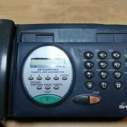 Системные телефоны - Факс Sharp FO-85, 0
