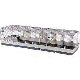 Сельскохозяйственные животные - Клетка для кроликов со съемной надставкой и…, 0