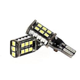 Лампочки - 7.5w T15 LED Reverse Light W16W 15SMD, 0