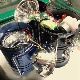 Переносные светильники - фонари светодиодные на солнечных батареях, 0