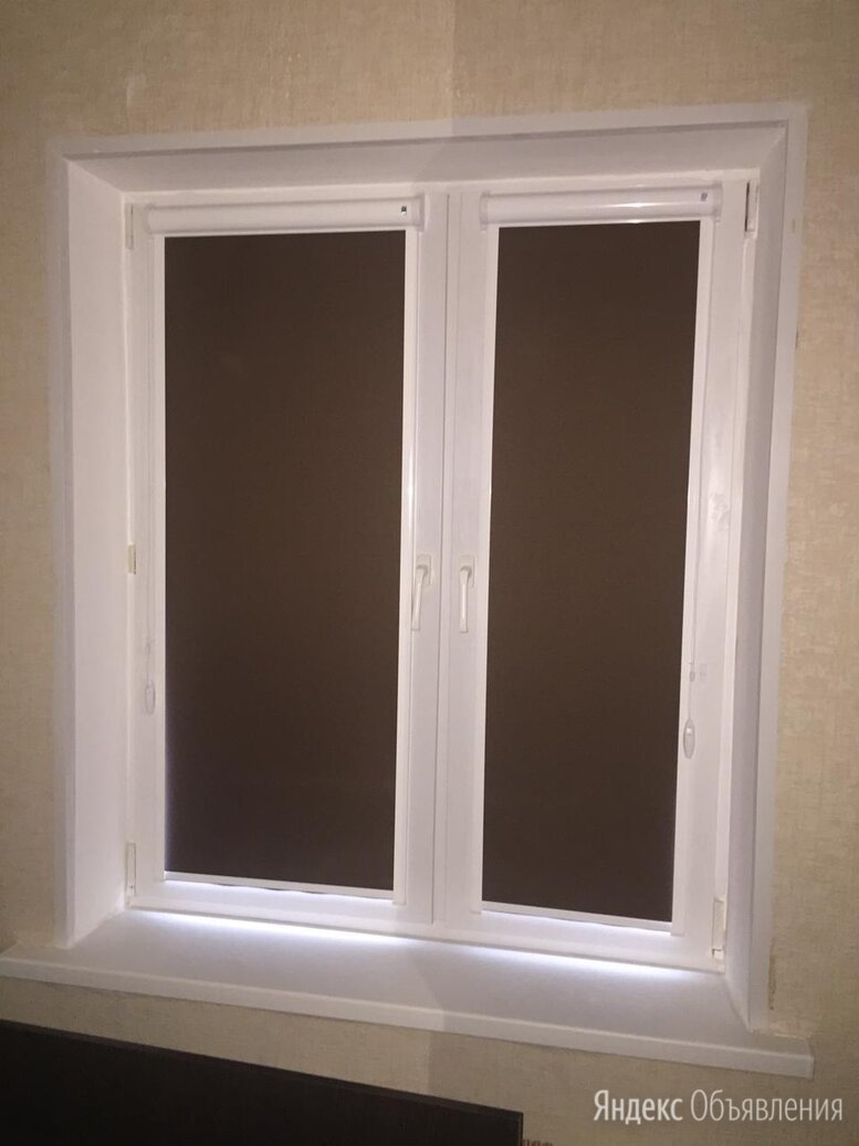 Рулонные шторы блэкаут по цене 1890₽ - Римские и рулонные шторы, фото 0