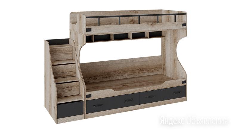 """Кровать двухъярусная с приставной лестницей """"Окланд"""" по цене 38790₽ - Кровати, фото 0"""