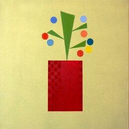 Картины, постеры, гобелены, панно - Картина *Волшебный цветок*, холст, акрил, размер…, 0