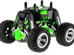 Радиоуправляемые игрушки - Радиоуправляемый трюковый вездеход Zegan Твистер…, 0