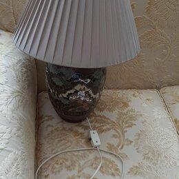 Ночники и декоративные светильники - Лампа настольная прикроватная, 0
