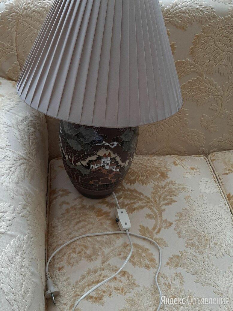 Лампа настольная прикроватная по цене 3500₽ - Ночники и декоративные светильники, фото 0