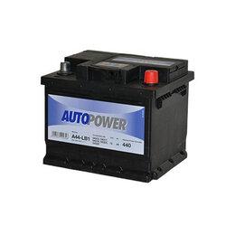 Аккумуляторные батареи - Аккумулятор Autopower A44-LB1 44Ач 440А Обратная полярность, 0