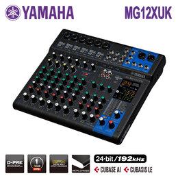 Микшерные пульты - Yamaha MG12XUK Микшерный пульт USB с процессором…, 0