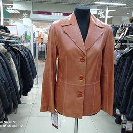 Пиджаки - Пиджак натуральная кожа, 0