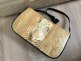 Сумки - Новая оригинальная сумка из кожи змеи, питона, 0