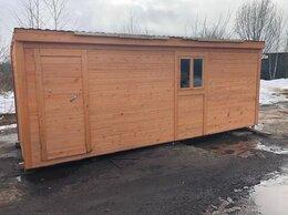 Готовые строения - Бытовка деревянная новая 6х2.30 А-500, 0