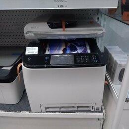 Принтеры, сканеры и МФУ - Цветной лазерный МФУ МФУ Ricoh SP C260SFNw копир-принтер цветн.-сканер, 0