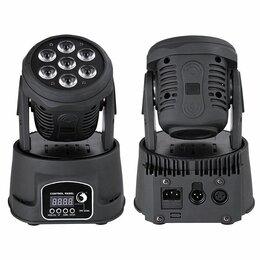 Осветительное оборудование - Светодиодные вращающиеся головы 7x12 Вт, 0
