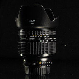 Объективы - Показать карту Nikon AF 24-120 mm 3.5-5.6 D // 331 , 0