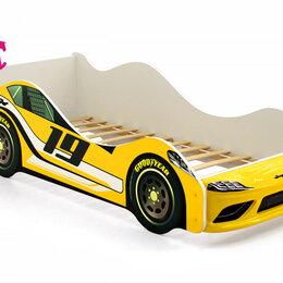 Кроватки - Кровать-машина Супра, желтый, 0