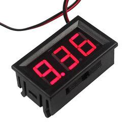 Товары для электромонтажа - Вольтметр в корпусе (0В - 30В), 0